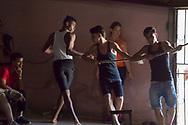 Circus performers, Havana, Cuba