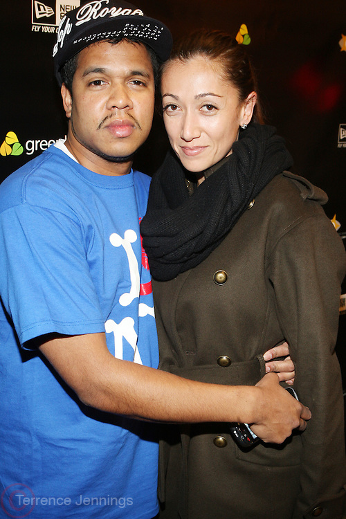1 December 2010-New York, NY-  Celebrity Photographer Johnny Nunez and Jennifer Yu at The New Era Launch of his Limited Edition 59Fitfty Cap and Launch of his Eye Can Foundation held at The New Era Flagship Store on December 1, 2010 in New York City. Photo Credit: Terrence Jennings
