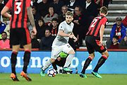 Luke Shaw (23) of Manchester United during the Premier League match between Bournemouth and Manchester United at the Vitality Stadium, Bournemouth, England on 18 April 2018. Picture by Graham Hunt.