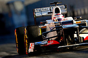 Kamui Kobayashi (JPA) drives the Sauber F1 team C31 Formula One Testing, Circuit de Catalunya, Barcelona, Spain, World Copyright: Jamey Price