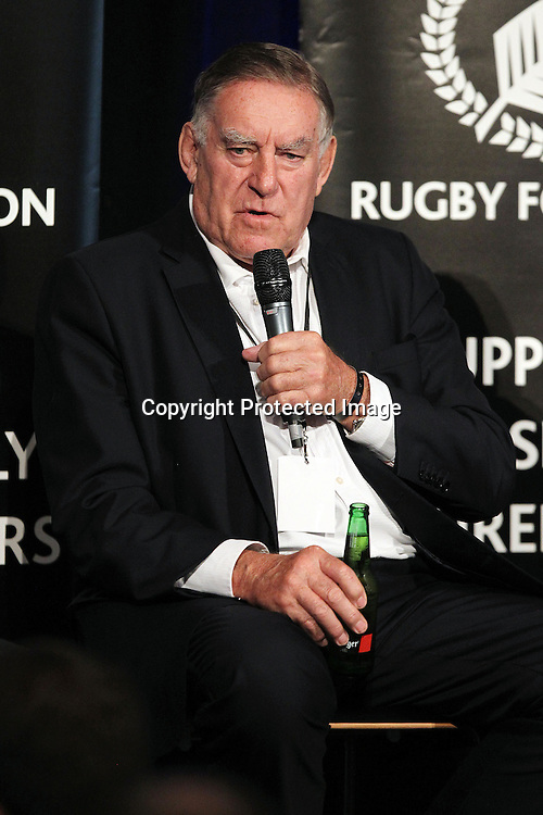 Sir Colin Pinetree Meads, The New Zealand Rugby Foundation Luncheon and Charity Auction, Eden Park, Auckland. 13 September 2013. Photo: William Booth/photosport.co.nz