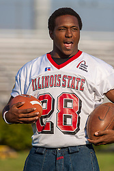 "16 August 2004    Defensive Back James Temple   ""Meet the Redbirds"" evening at Illinois State University, Normal IL"