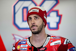 November 10, 2017 - Valencia, Valencia, Spain - 4 Andrea Dovizioso (Italian) Ducati Team Ducati during free practice at the Gran Premio Motul de la Comunitat Valenciana, Circuit of Ricardo Tormo,Valencia, Spain. Friday 10th of november 2017. (Credit Image: © Jose Breton/NurPhoto via ZUMA Press)