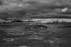 Geothermal and hotspring area, Namaskard, Iceland - Jarðhitasvæði við Námaskarð