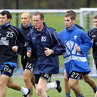 St Johnstone training...08.10.01<br />