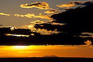 Sunset over the Grand Canyon Yavapai Point, South Rim, Grand Canyon National Park, Arizona