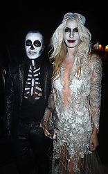 Pictured (left) is Julien Macdonald. Celebrity guests arrive at the UNICEF Halloween ball at One Mayfair, London, United Kingdom. Thursday, 31st October 2013. Picture by Ben Stevens / i-Images
