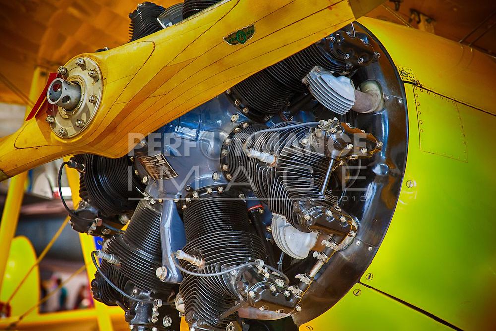 Aircraft propeller engine
