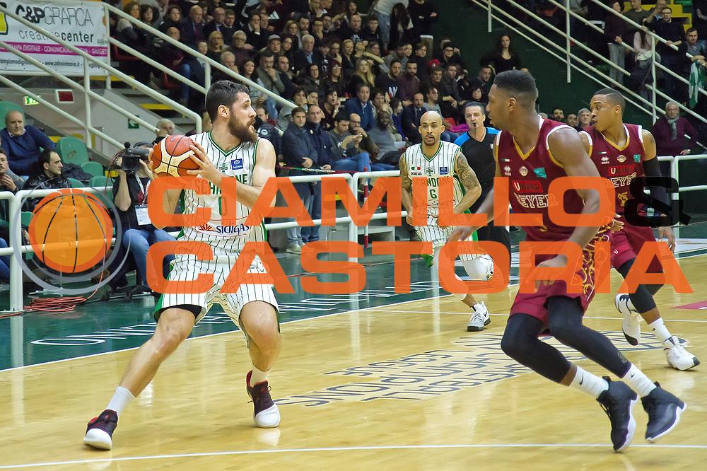 Andrea Zerini<br /> Sidigas Avellino - Umana Reyer Venezia<br /> Basketball Champions League 2016/2017<br /> Avellino 08/03/2017<br /> Foto Ciamillo-Castoria