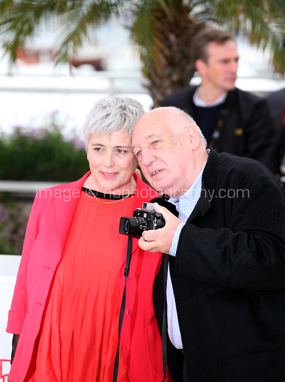 Directors Raymond Depardon and Claudine Nougaret at the Journal De France photocall at the 65th Cannes Film Festival France. Tuesday 22nd May 2012 in Cannes Film Festival, France.
