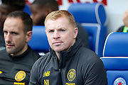 Neil Lennon of Celtic FC during the Ladbrokes Scottish Premiership match between Rangers and Celtic at Ibrox, Glasgow, Scotland on 1 September 2019.
