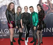 2018, December 04. Pathe ArenA, Amsterdam. Nederlandse premiere van Mortal Engines. Op de foto:
