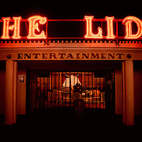 The outdoor pool called The Lido on Worthing seafront, West Sussex, England