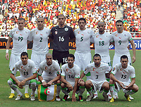 Fotball<br /> Foto: DPPI/Digitalsport<br /> NORWAY ONLY<br /> <br /> FOOTBALL - AFRICAN NATIONS CUP 2010 - GROUP A - ALGERIE v ANGOLA - 18/01/2010<br /> <br /> LAGBILDE ALGERIE