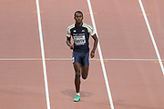 Malique Smith (Virgin Islands), 400 Metres Hurdles Men - Round 1, Heat 5, during the 2019 IAAF World Athletics Championships at Khalifa International Stadium, Doha, Qatar on 27 September 2019.