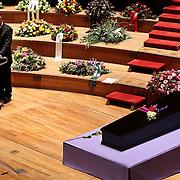 NLD/Amsterdam/20100122 - Uitvaart Edgar Vos, partner Geert Eijsbouts