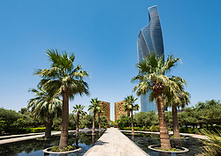Monument at Al Shaheed Park in Kuwait City, Kuwait
