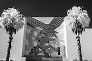 The Man and Eagle bas -relief by Pierre Bourdelle at the Centennial Building at Fair Park. This is the 80th anniversary of the 1936 Texas Centennial Exposition. Photos taken May 28, 2016.