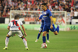 October 24, 2018 - Madrid, Madrid, SPAIN - Yuri B. of Athletic de Bilbao in action during the spanish league, La Liga, football match between Rayo Vallecano and Athletic de Bilbao on October 24, 2018 at Estadio de Vallecas in Madrid, Spain. (Credit Image: © AFP7 via ZUMA Wire)