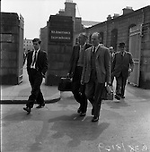 1959 - Mr. Hully leaving the High Court to attend at District Court
