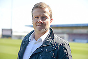 Notts County Manager Mark Cooper during the Sky Bet League 2 match between Northampton Town and Notts County at Sixfields Stadium, Northampton, England on 2 April 2016. Photo by Dennis Goodwin.