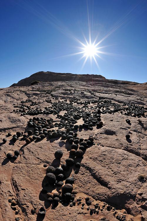Moqui Marbles im Escalantegebiet