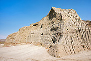 Castle Butte in the Big MUddy Badlands near Bengough<br />Big Muddy Badlands<br />Saskatchewan<br />Canada