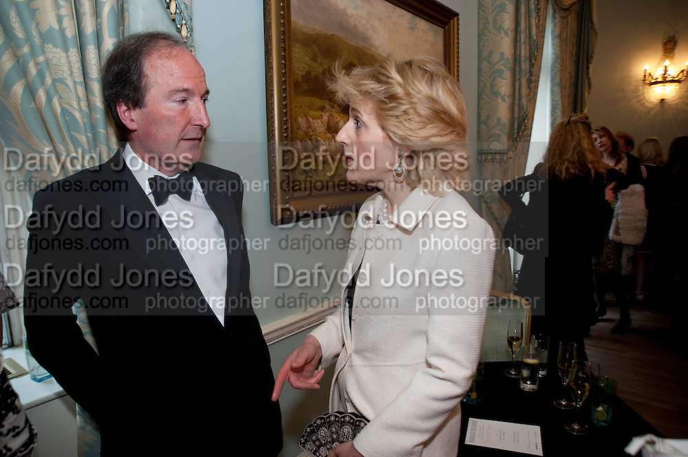 CHARLES MOORE; FIONA SHACKLETON, Nicholas Coleridge celebrates the publication of his novel; Deadly Sins. Dartmouth House, Charles St. London. 28 April 2009