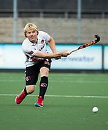 AMSTELVEEN -  Klaas Vermeulen (A'dam)  tijdens Amsterdam-Tilburg (4-2), competitie Hoofdklasse hockey heren   (2017-2018) . COPYRIGHT KOEN SUYK