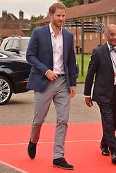 © Licensed to London News Pictures. 11/06/2019. London, UK. The Duke of Sussex attends the Sentebale Audi Concert at Hampton Court Palace. Photo credit: Ray Tang/LNP