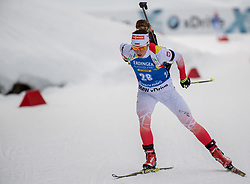 11.01.2018, Chiemgau Arena, Ruhpolding, GER, IBU Weltcup Biathlon, Ruhpolding, Einzel, Damen, im Bild Weronika NOWAKOWSKA (POL) // during Ladies Individual of BMW IBU Biathlon World Cup at the Chiemgau Arena in Ruhpolding, Germany on 2018/01/11. EXPA Pictures © 2018, PhotoCredit: EXPA/ Ernst Wukits
