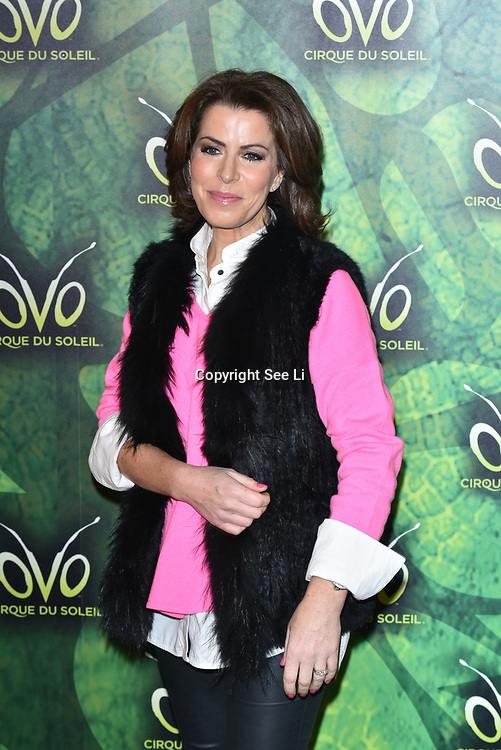 London, England, UK. 10th January 2018. Natasha Kaplinsky arrives at Cirque du Soleil OVO - UK premiere at Royal Albert Hall.