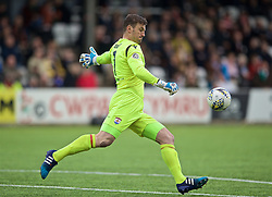 RHOSYMEDRE, WALES - Sunday, May 5, 2019: Connah's Quay Nomads's goalkeeper John Danby during the FAW JD Welsh Cup Final between Connah's Quay Nomads FC and The New Saints FC at The Rock. (Pic by David Rawcliffe/Propaganda)