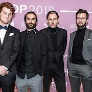 NLD/Amsterdam/20180213 - Edison Pop Awards 2018, band van Naaz
