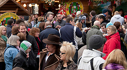 © under licence to London News Pictures 12/12/2010 Christmas shoppers were out in force today (Sunday) as car parks were full and the streets packed with shoppers looking for Christmas presents. Picture shows the shoppers having a bite to eat in Victoria Square, Birmingham..Picture credit: Dave Warren/London News Pictures...
