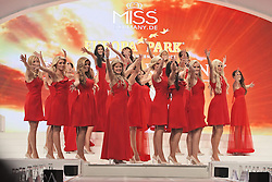 28.02.2015, Europapark Dom, Rust, GER, Miss Germany Wahl 2015, im Bild Die Teilnehmerinnen laufen auf // during the election to Miss Germany 2015 at the Europapark Dom in Rust, Germany on 2015/02/28. EXPA Pictures © 2015, PhotoCredit: EXPA/ Eibner-Pressefoto/ BW-Foto<br /> <br /> *****ATTENTION - OUT of GER*****