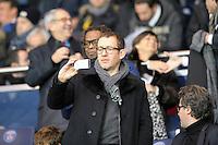 Dany Boon - 06.12.2014 - PSG / Nantes - 17eme journee de Ligue 1<br />Photo : Andre Ferreira / Icon Sport