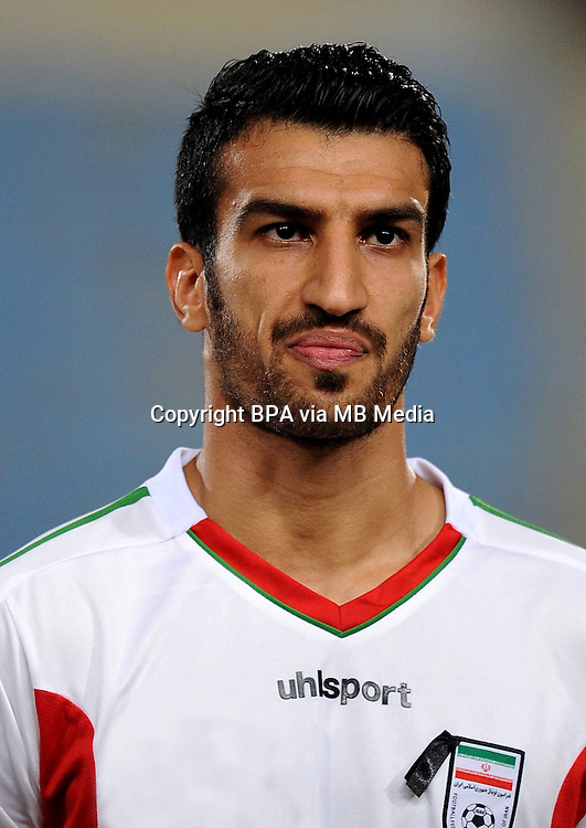 Asian Football Confederation - ASIAN CUP 2015 - Qualifing Match /<br /> Lebanon vs Iran 1-4  ( Sports City Stadium  - Beyrut , Lebanon ) <br /> Hossein Mahini of Iran , during the match between Lebanon and Iran