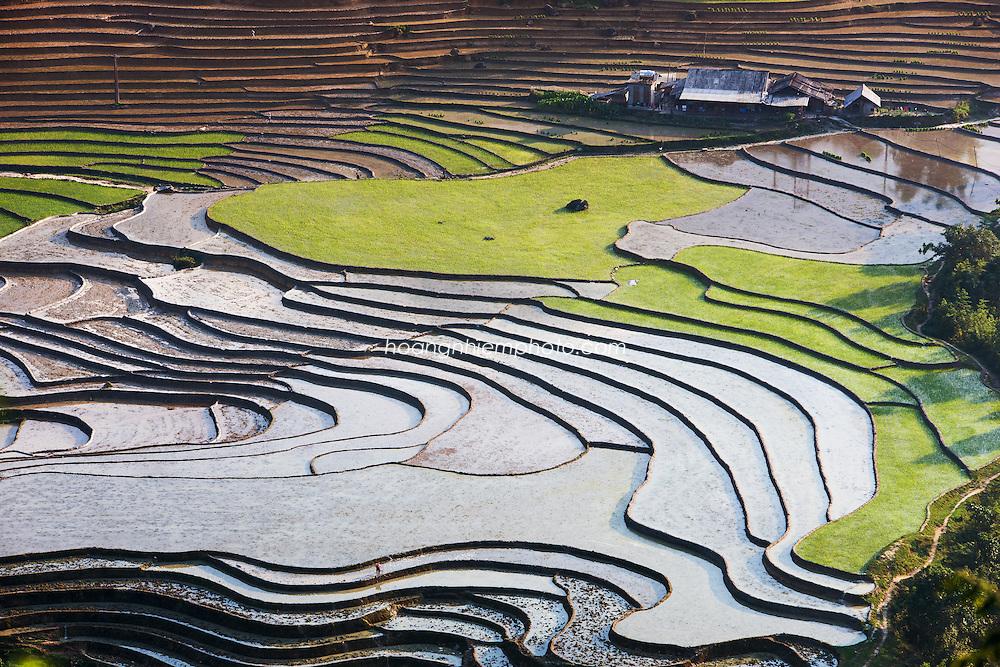 Vietnam Images-Sapa-landscape. Hoàng thế Nhiệm
