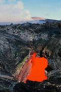 Skylight, Kilauea Volcano, Island of Hawaii
