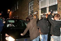 UK ENGLAND LONDON 11SEP08 - Paparazzi surround Amy Winehouse as she leaves her house in Camden Town, London...jre/Photo by Jiri Rezac..© Jiri Rezac 2008..Contact: +44 (0) 7050 110 417.Mobile:  +44 (0) 7801 337 683.Office:  +44 (0) 20 8968 9635..Email:   jiri@jirirezac.com.Web:    www.jirirezac.com..All images © Jiri Rezac 2008. All rights reserved.