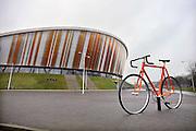 Nederland, Apeldoorn, 22-12-2011Het exterieur van wielerbaan en sportcentrum omnisport van de firma Libema van Dirk Lips.Foto: Flip Franssen/Hollandse Hoogte