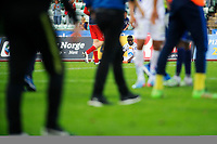 Fotball , Tippeligaen , Eliteserien <br /> 21.08.16 , 20160821<br /> Stabæk - Aalesund<br /> Aalesunds Edwin Oppong Anane-Gyasi sitter på gresset etter tap 3-0<br /> Foto: Sjur Stølen / Digitalsport
