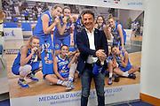 Massimo Riga<br /> Stelle d'Argento a Lucca. Premiazione Under 17 e Under 20 Femminili<br /> FIP 2016<br /> Lucca, 18/11/2016<br /> Foto Ciamillo - Castoria