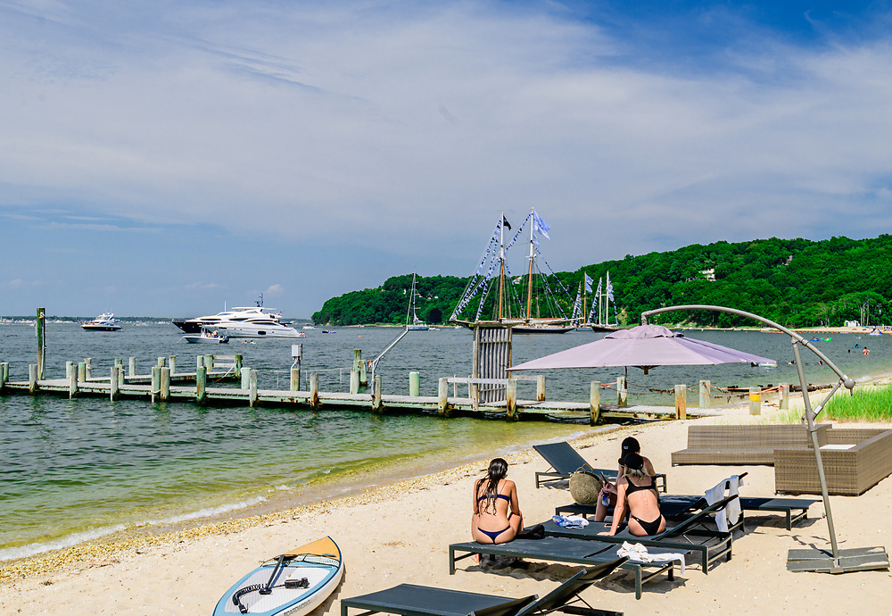 Crescent Beach aka Sunset Beach, Shelter Island, NY