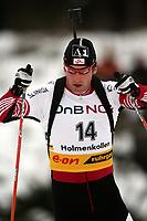 Biathlon, 09. december 2004, World Cup, Oslo,  Christoph Sumann, AUT , Austria