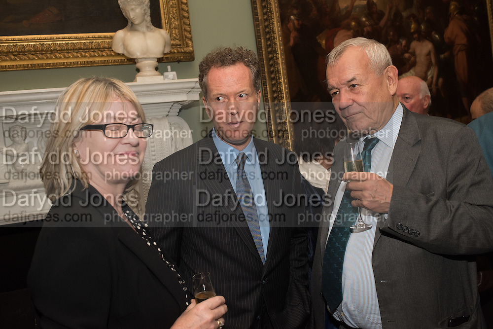 TEDDY ST. AUBYN; LORD RAZZALL, Everyman 25th Anniversary party, Spencer House. St. James' Place. London. SW1. 26 October 2016