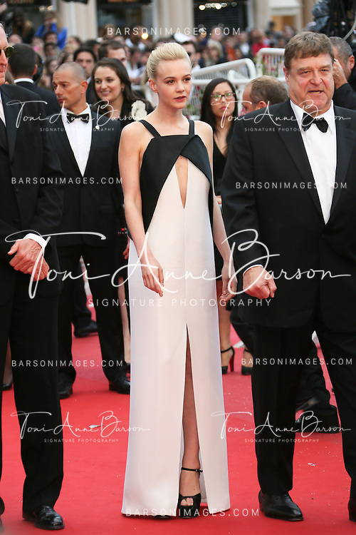 CANNES, FRANCE - MAY 19:  Carey Mulligan attends the Premiere of 'Inside Llewyn Davis' at The 66th Annual Cannes Film Festival on May 19, 2013 in Cannes, France.  (Photo by Tony Barson/FilmMagic)