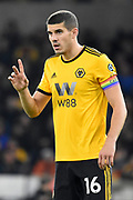 Wolverhampton Wanderers defender Conor Coady (16) during the Premier League match between Wolverhampton Wanderers and Chelsea at Molineux, Wolverhampton, England on 5 December 2018.
