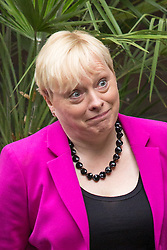 © Licensed to London News Pictures. 10/07/2016. London, UK. ANGELA EAGLE MP leaves the ITV Studios after speaking on the Peston on Sunday show today (10 July 2016). Angela Eagle is expected to announce her bid for the leadership of the Labour party tomorrow. Photo credit : Tom Nicholson/LNP
